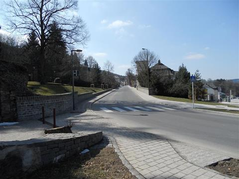 Réaménagement de la route à Wiltz